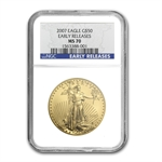 2007 1 oz Gold American Eagle MS-70 NGC (Early Releases)