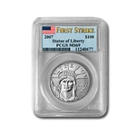 2007 1 oz Platinum American Eagle MS-69 PCGS (First Strike)