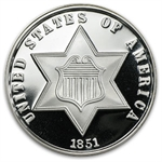 2 oz Three Cent (Replica) Silver Round .999 Fine