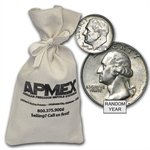 90% Silver Coins - $500 Face Value Bag