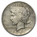Peace Dollar Set Complete (In Dansco Album) - 24 Coins