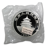 1999 (Kilo Proof) Silver Chinese Panda (W/Bag & Coa)