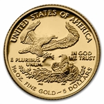 2007-W 1/10 oz Proof Gold American Eagle (w/Box & CoA)