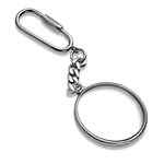 Sterling Silver Key Ring - For Silver Dollar