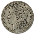 1881-CC Morgan Dollar - Fine
