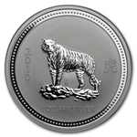 2010 1 oz Silver Lunar Year of the Tiger (Series I)