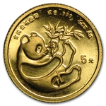 1/20 oz Gold Chinese Panda - NOT Sealed