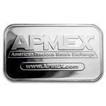 1 oz APMEX Silver Bar .999 Fine