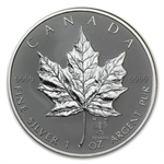 2004 1 oz Silver Canadian Maple Leaf - Scorpio Zodiac Privy