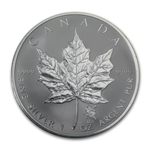 2004 1 oz Silver Canadian Maple Leaf - Leo Zodiac Privy
