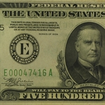 1934 (E-Richmond) $500 FRN (Extra Fine)