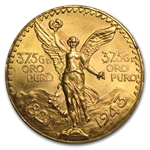 Mexico 1943 50 Pesos Gold Coin (AU/BU)