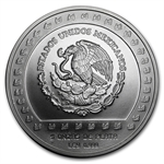 1992 Mexico 5 oz Silver 10,000 Pesos - Brilliant Uncirculated