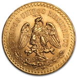 Mexico 1926 50 Peso Gold Coin (AU/BU)