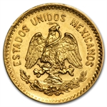Mexico 1908 10 Peso Gold AU/BU