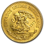 Mexico 1917 20 Pesos Gold Coin (AU/BU)