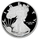 7.3 oz Prooflike Silver Eagle .999 Fine