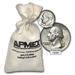 90% Silver Coins - $100 Face Value Bag