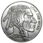 2 oz Buffalo Nickel Dallas Specialty Mint Silver Round .999 Fine
