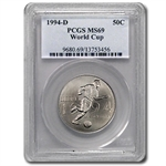 1994-D World Cup Half Dollar Clad Commem MS-69 PCGS
