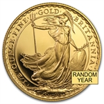 1/2 oz Gold Britannia - Random Proof &/or Uncirculated