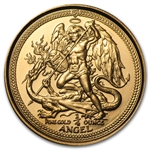 Isle of Man 1/4 oz Gold Angels (Proof &/or Unc)
