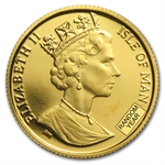 Isle of Man 1/20 oz Gold Angels (Proof and/or Unc.)