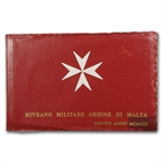 Malta 1964 2 Coin Silver Proof Set