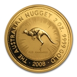 2008 2 oz Australian Gold Nugget