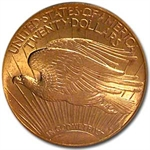 1922 $20 St. Gaudens Gold Double Eagle - MS-63 PCGS