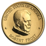 U.S. Mint Gold 1 oz Robert Frost Commemorative Arts Medals