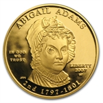 2007-W 1/2 oz Proof Gold Abigail Adams (w/Box & CoA)