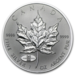 1998 1 oz Silver Canadian Maple Leaf (RCM Privy)