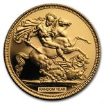 Great Britain Proof Gold Sovereign (Random Years)