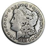 1881-CC Morgan Dollar - Very Good