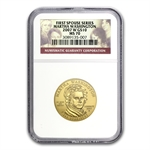 2007-W 1/2 oz Gold Martha Washington MS-70 NGC