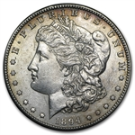 1894-S Morgan Dollar - Almost Uncirculated-55