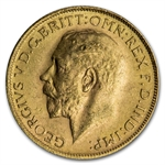 South Africa 1925-1932 Sovereign Gold (Brilliant Uncirculated)