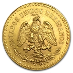 Mexico 1922 50 Peso Gold Coin (AU/BU)