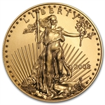 2008 1/2 oz Gold American Eagle - Brilliant Uncirculated