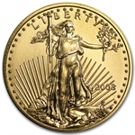 2008 1/4 oz Gold American Eagle - Brilliant Uncirculated