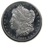 1882-CC Morgan Dollar MS-64 PL - Proof Like NGC - GSA Certified