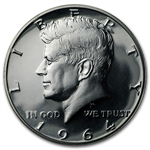 $10 1964 Proof Kennedy Halves - 90% Silver 20-Coin Roll