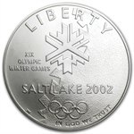 2002-P Olympic Winter Games $1 Silver Commemorative - MS-70 PCGS