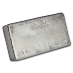 50 oz Silvertowne Poured Silver Bar .999 Fine