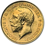 Great Britain Gold 1/2 Sovereign George V Extra Fine or Better