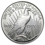 1 oz Peace Dollar (Replica) Silver Round .999 Fine