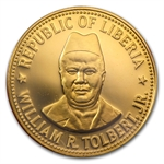Liberia 1979 One Hundred Dollar Gold Coin (Proof)