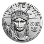 2008 1/2 oz Platinum American Eagle - Brilliant Uncirculated