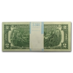 1976 (J-Kansas City) $2 FRN (Crisp Uncirculated) (50 Notes)